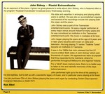 3GDR John Sidney - Pianist Extraordinaire article written by by Ron Abel November 2010