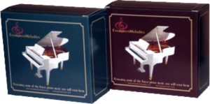 The John Sidney Collection boxed set of 12 piano music CDS