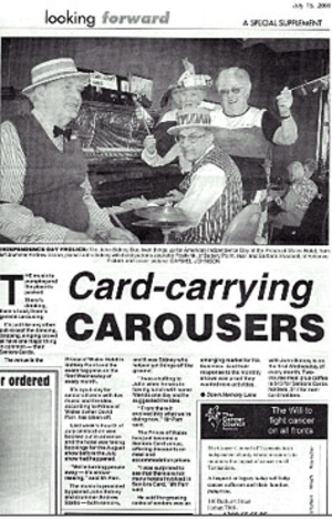 Card Carrying Carousers