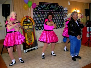 The Tapsation 50s Sock Hop Show photo