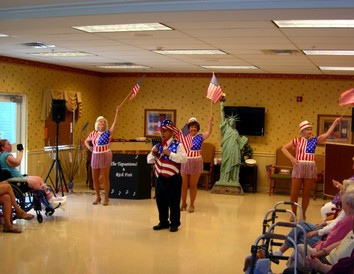 Stars and Stripes Patriotic Show