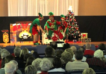Tapsations Christmas show performances