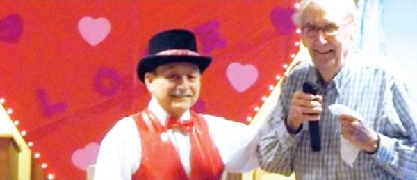Tapsations perform Valentine's day at Brandywine